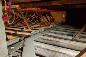 Rekonstrukcija podstrehe - Ptuj (1)