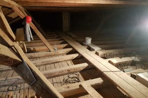 Rekonstrukcija podstrehe - Ptuj (2)